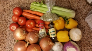 Veggie stock ingredients