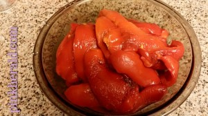 Peeled peppers
